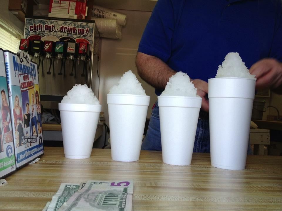 Shreveport's Best Places for Frozen Refreshments? Head to Youree Drive.