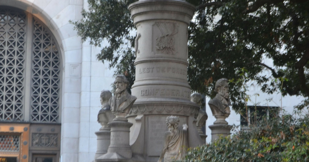 Confederate monument may be coming down