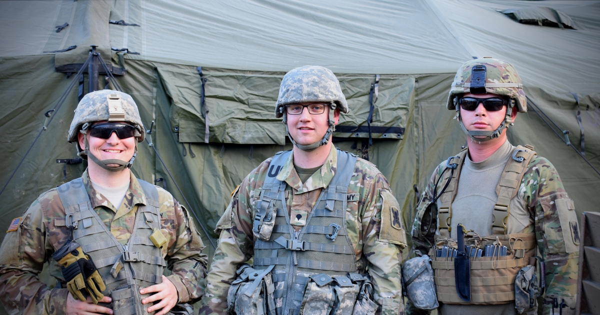 Local Cavalry Soldiers Complete Large Field Training Exercise