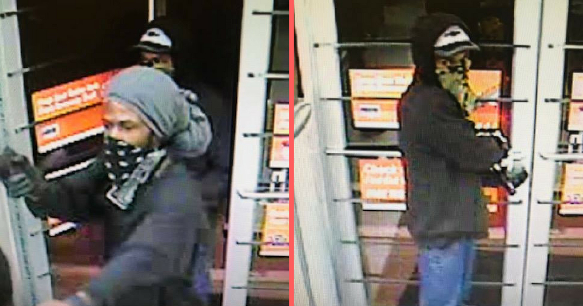 Police Search For Auto Zone Robbery Suspects